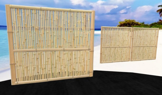 Bamboo Wall Panels Short Bamboo Wall