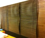 Bamboo Wall Panels Solid Bamboo Cladding Wall