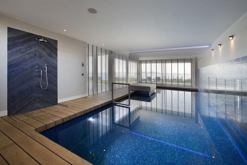 Bath Shower Swimming Pool Wall Lamps, Venetian Blind