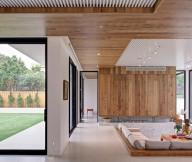 Beautiful-Neat- Modern And Warm Mansion Interior white granite floor Warm Mansion Interior