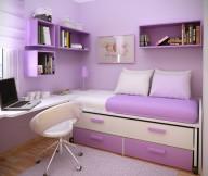 Beautiful Purple Small Bedroom Ideas