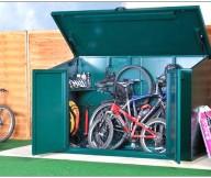 Bike Storage Ideas Green Box Green Floor