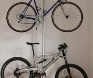 Bike Storage Ideas Steel Stake Bike Hanger