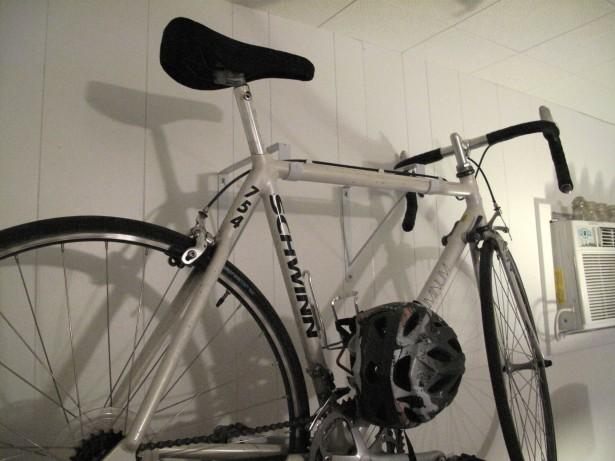 Bike Storage Ideas White Bike Hanger White Wal