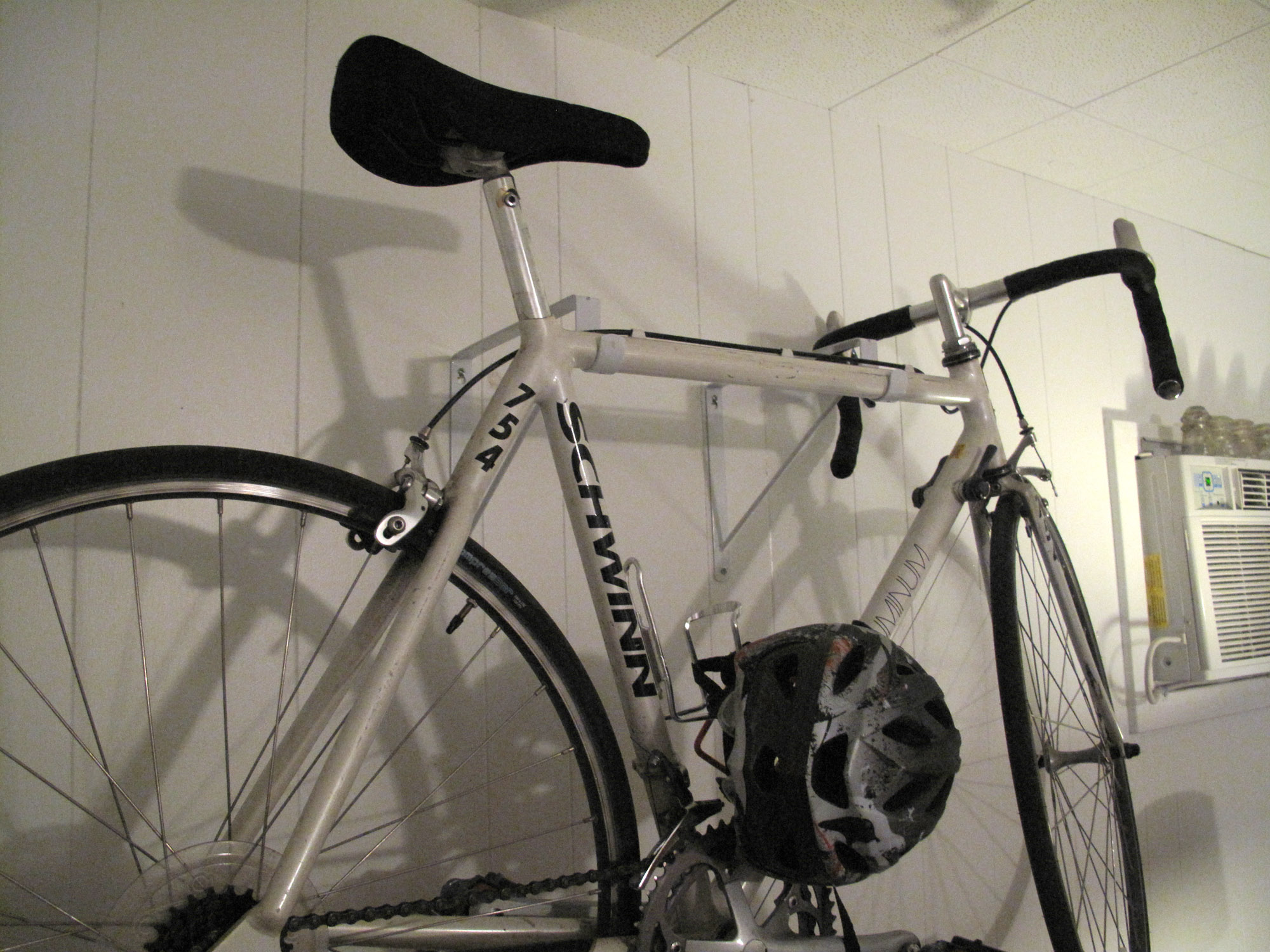 Bike Storage Ideas White Bike Hanger White Wal