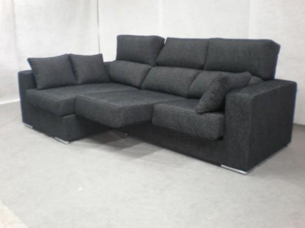 Black sofa white hue minimalist look modern design for Minimalist sofa design