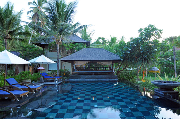 Black roof gazebo Exclusive  Beach Villas coconut trees The Lush Jungle