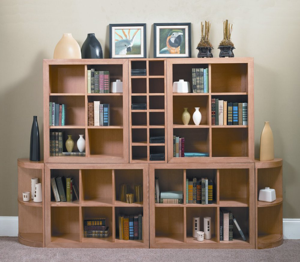 Bookshelf Designs  Big Shelves Brown Carpet