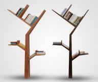 Bookshelf Designs Branch Tree Shelves in Brown and Black