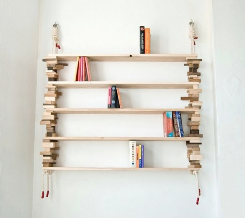 Bookshelf Designs Contemporary Shelves