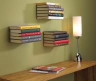 Bookshelf Designs Wooden Board Shelves Wooden Table White Sitting Lamp