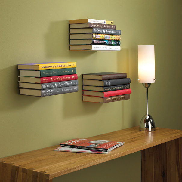 Bookshelf Designs Wooden Board Shelves Wooden Table White Sitting Lamp