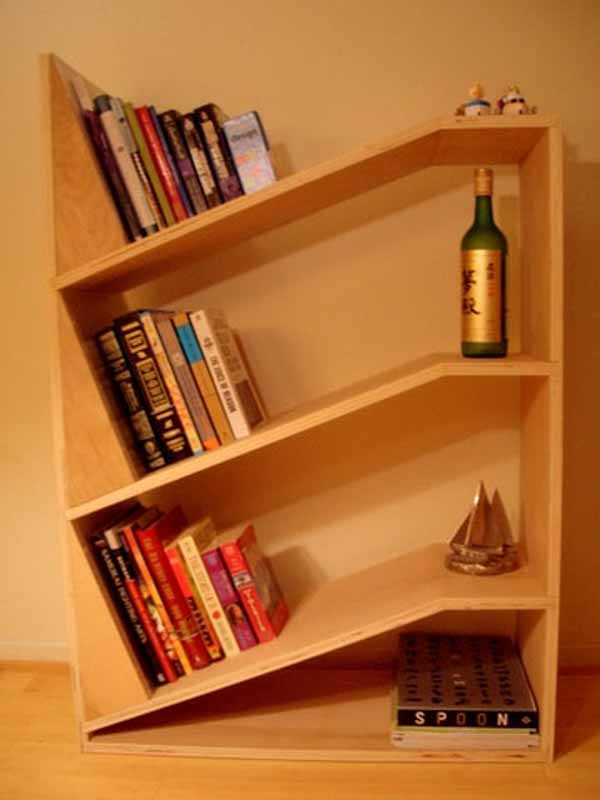 Bookshelf Designs  Wooden Shelves Wooden Floor