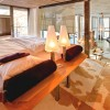 Breathtaking-Swiss-Chalet Vintage Room Designs  unique lamp white bedLoft Style Chalet