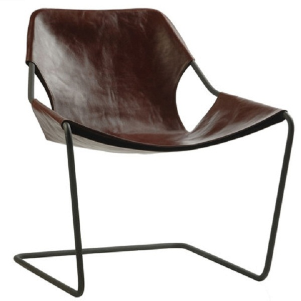 Brown Chair Black Chair Frame Minimalist Look Modern Design