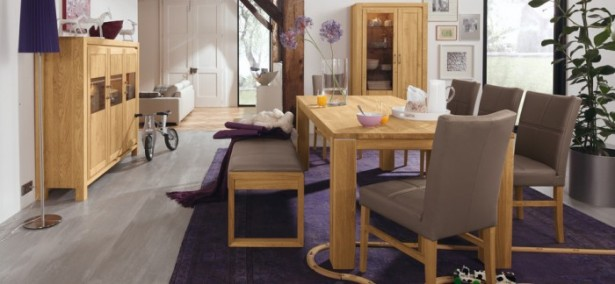 Brown Chairs Navy Blue Carpet Wooden Cabinets