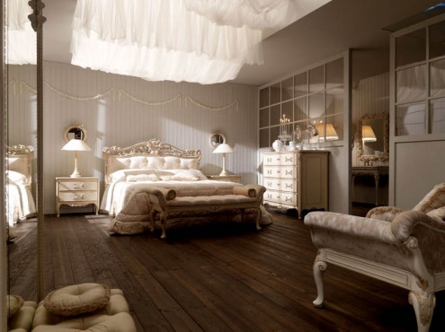 Classic Italian Interiors best wooden floor white wooden wall white ceiling