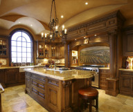 Classic Look Hidden Lamps Cream Countertop Cream Floor