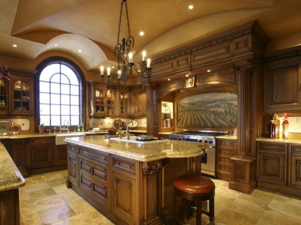 Classic Look Hidden Lamps Cream Countertop Cream Floor