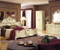Classic Theme Ivory Color Furniture Typical Motive Rug Brown Wall