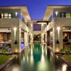 Colorful-hidden-light-Classy-interior-Long-rectangle-swimming-pool-Unique-garden-light