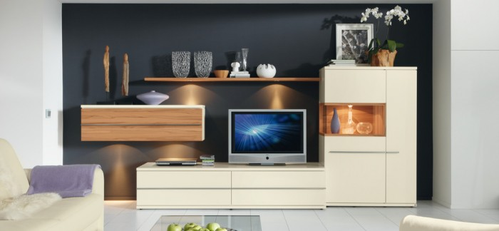 Cream Cabinets Cream Television cabbinet Wooden Cabinets Wooden Wall Shelves