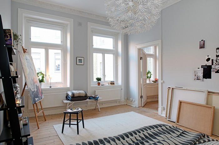 Cream Carpet White Window White Door
