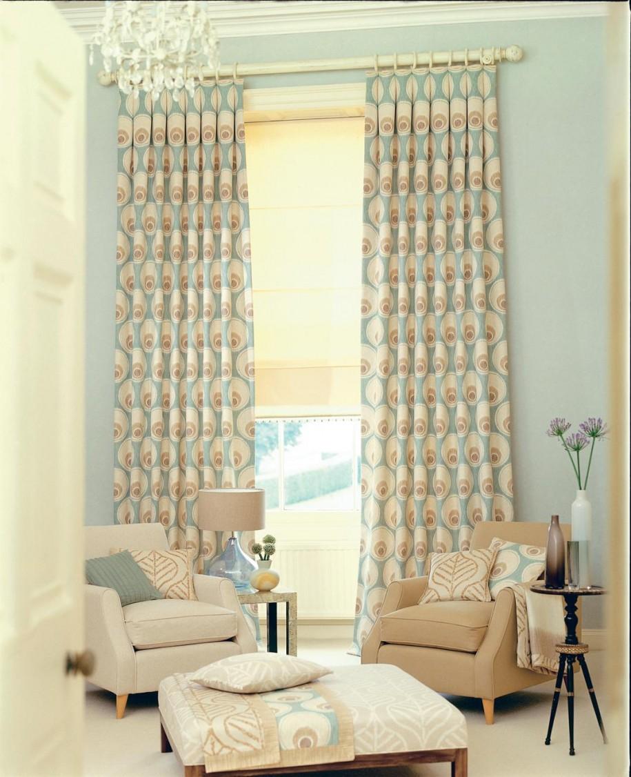 Curtain Designs for Windows Brown Sofa White Sofa Blue Polka Dot Curtains Cream Floor