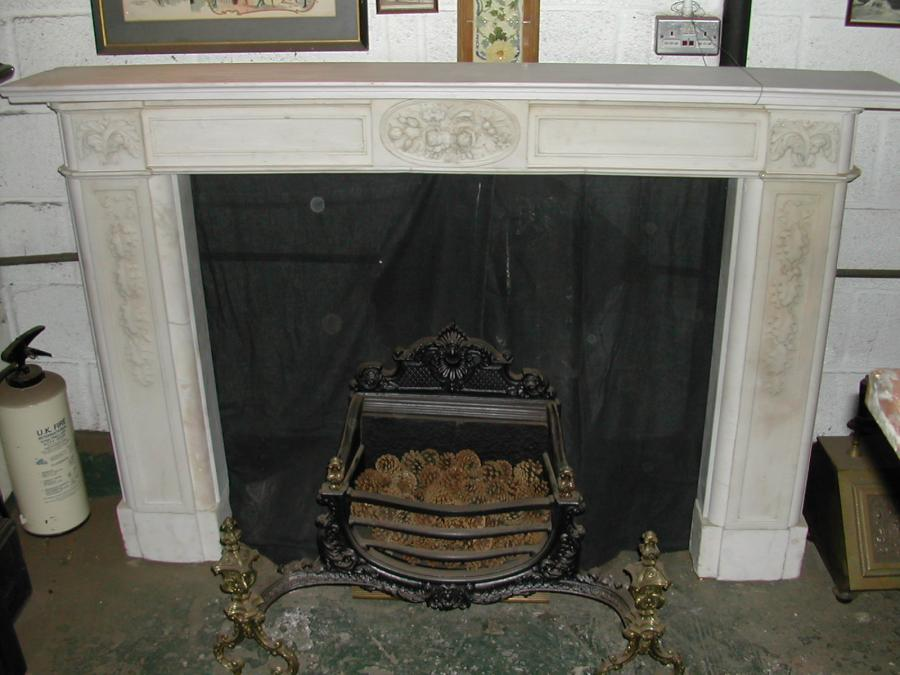 Dried Flowers Pine  White Fireplace Dirty FLoor Classic Look