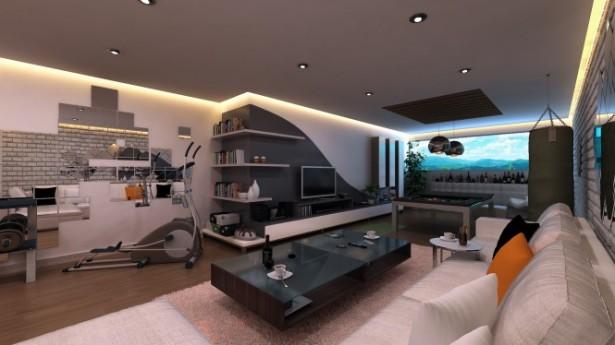 Elftug kusadasi games room Bachelor Pad Ideas design