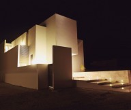 Flat Roof Marble Wall Modern Dwelling White Wall