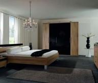 French-windows-Dark-floor-tiles-Dark-fur-rug-Crystal-chandeliers
