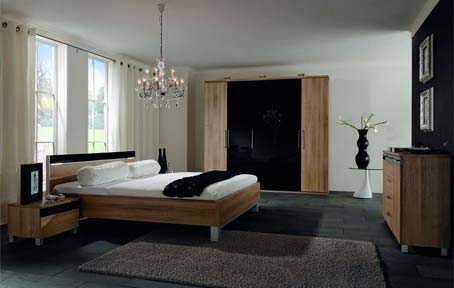 French-windows-Dark-floor-tiles-Dark-fur-rug-Crystal-chandeliers