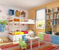Fresh Room Designs children-room-interior-ideas colourfull rug Room Designs for Kids