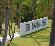 Freshening greenery Villa Sapi  Coconut trees Stylish path