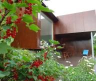 Grape Tree Wooden Wall Wide Windows Longue Chair