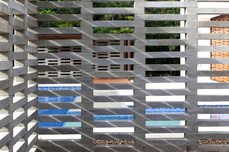 Grey Fence Minimalist Design Smart Look Modern Plan