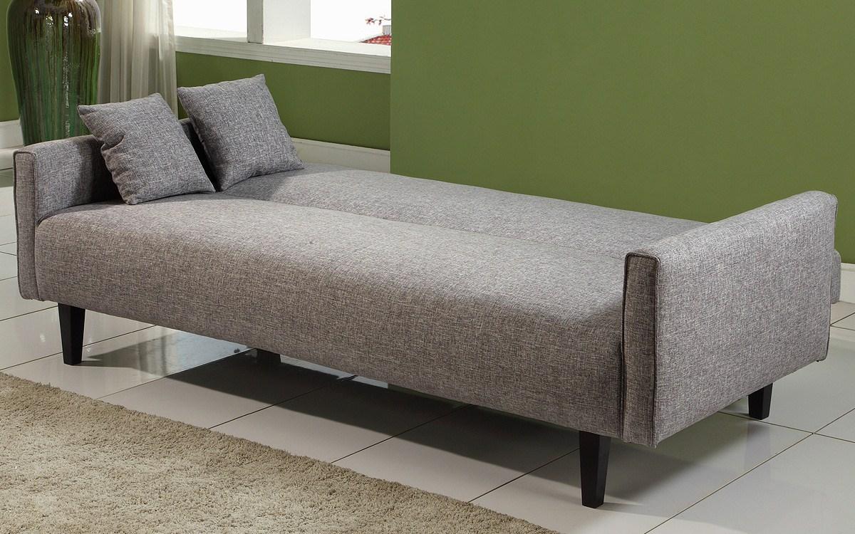 Grey Sofa Cream Rug Green Wall Grey Cushions