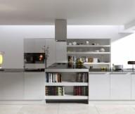 Hidden Lamps White Wall White Floor White Cabinets