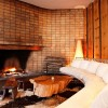 Iconic Antumalal Hotel -fireplace-living-area traditional fireplace Hotel In Chile
