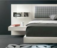 Inspiring-hidden-light-Floral-pattern-carpet-Tufted-bed-headboard-Modern-low-profile-bed