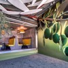 Inspiring wallpaper Stylish bench Google Tel Aviv office