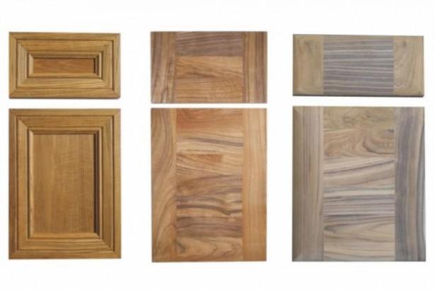 Kitchen Cupboard Doors Ornamented Door Brown Smooth Door Pale Wooden Door