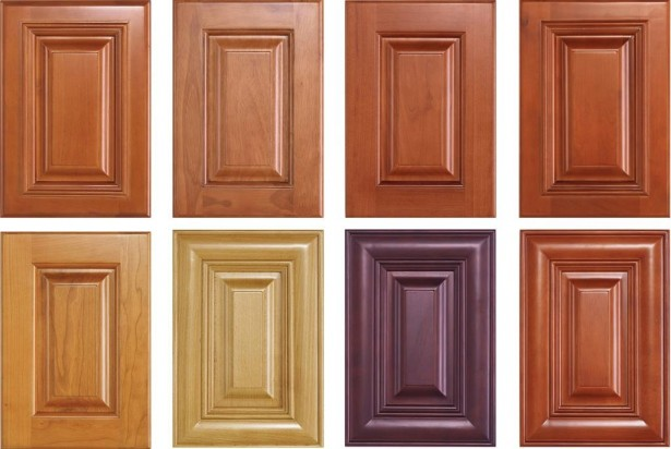 Kitchen Cupboard Doors Purplish Brown Door Light Brown Door Darker brown Doors