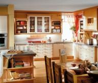 Kitchen Cupboards Ideas Wooden Cabinets Wooden Dining Tabke Wooden Chiars Wooden Island