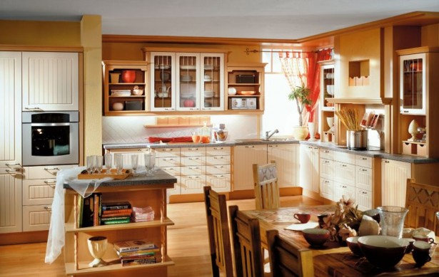 Kitchen Cupboards Ideas Wooden Cabinets Wooden Dining Tabke Wooden Chiars Wooden Island
