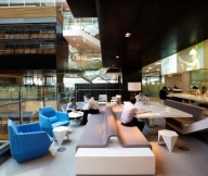 ANZ Business Centre Click Hub Colorful Creative Office