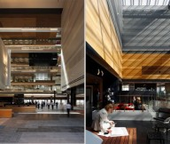 ANZ Business Centre Common And Atrium Link Colorful Creative Office