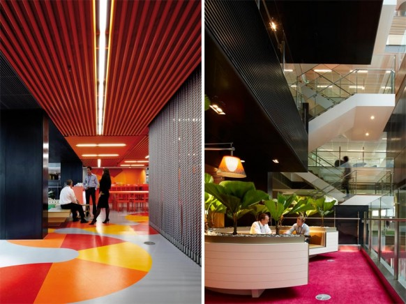 ANZ Business Centre Grow And Play Hubs Colorful Creative Office