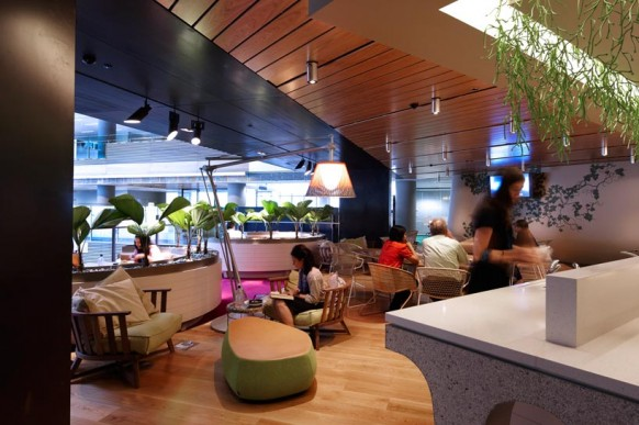 ANZ Business Centre Grow Hub Colorful Creative Office
